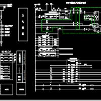 110kV进线保护控制原理图