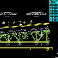 27m梯形钢结构屋架课程设计图