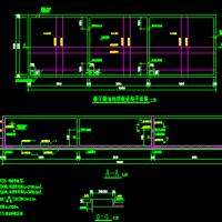 饭店三级隔油隔渣池结构图