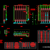 UOF4超滤膜超滤配管图CAD图