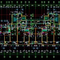 23层带连廊高层住宅楼建筑施工图