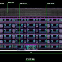 贵州8102平米学校多层宿舍楼建筑图2019