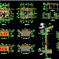锅炉房 配电室及水泵房建筑图
