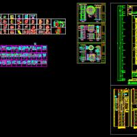 130多点个CAD装修节点施工详图