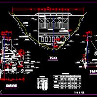 砌石坝总体设计图