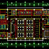 河北石家庄中医院室内装修设计施工图