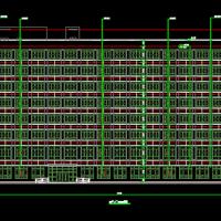 贵州某妇幼住院楼CAD建筑图2020
