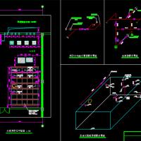 医药科技园区消防泵房CAD图纸