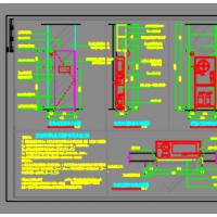 暗藏式消火栓箱通用CAD图