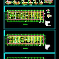筏板基础及地基梁施工图