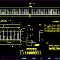 多种城市道路用栏杆设计CAD图