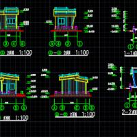 值班室木结构设计图