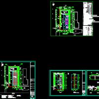 电动汽车充电站建筑设计施工图
