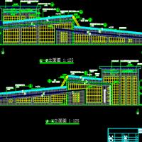 三层垃圾中转站建筑设计施工图
