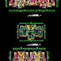 18层高层住宅楼户型图